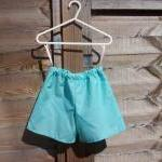 Girls turquoise blue sleeve..